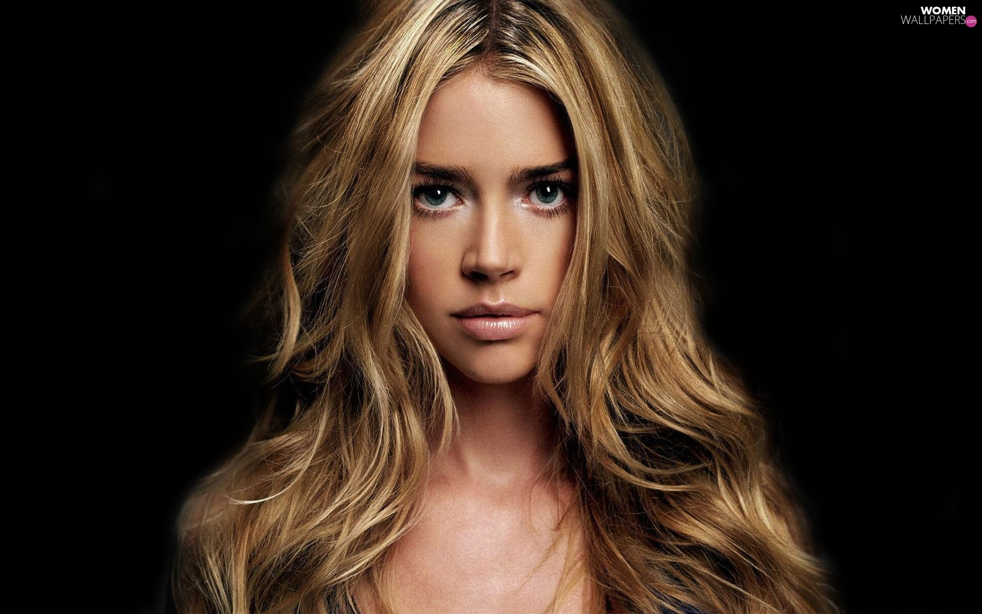 face, Hair, Women, Denise Richards, Longs