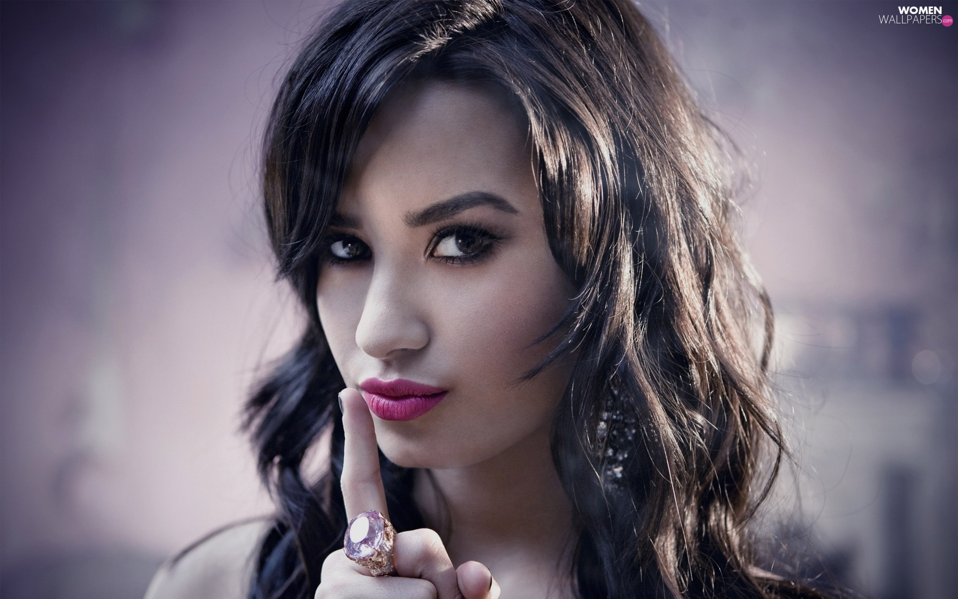 jewellery, Demi Lovato, Women, make-up, Beauty