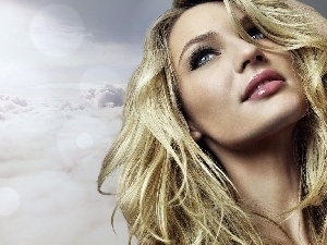 clouds, dreamy, Candice Swanepoel