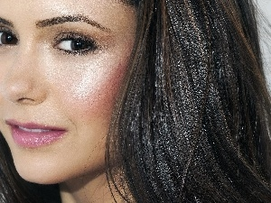 make-up, Nina Dobrev, delicate