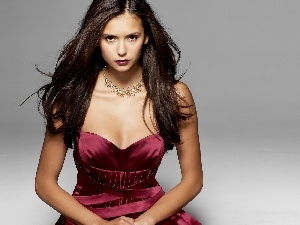 Nina Dobrev, Cherry, Dress