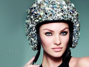 Cap, Candice Swanepoel, make-up